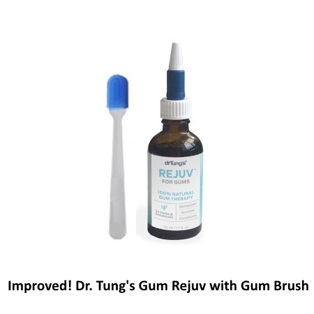 Image of Dr. Tung Gum Rejuv with Compact Gum Brush