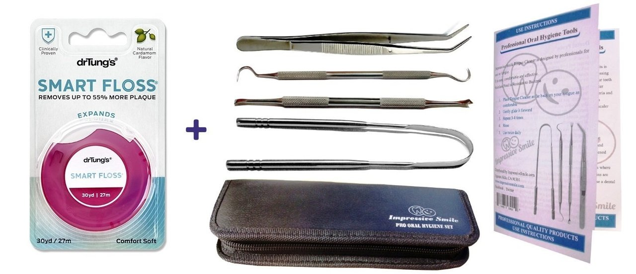 Image of Pro Oral Hygiene Kit + Dr. Tung's Smart Floss