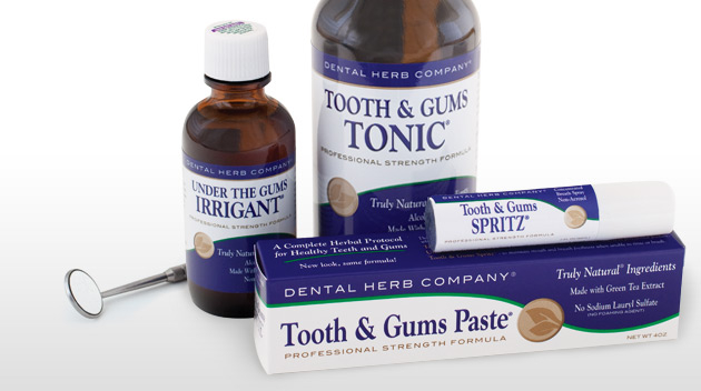 Image of Complete Herbal Tooth and Gums Kit