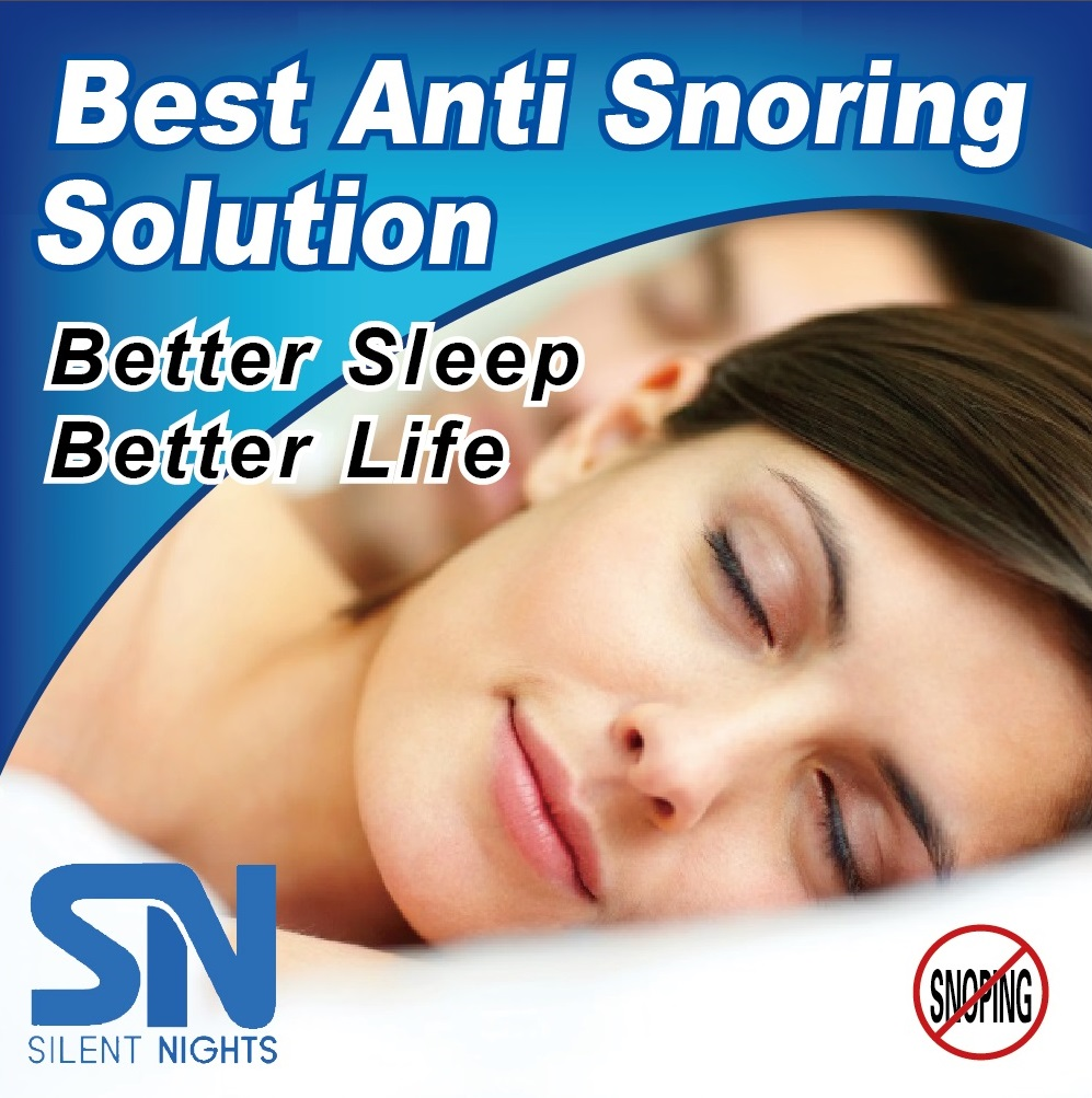Image of Silent Nights Anti Snore Mouth Guard – Stop Teeth Grinding – Superior Mouth Guard - BPA FREE